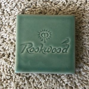 Rookwood Pottery Coaster/Paperweight